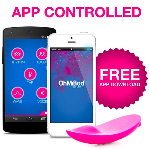 OhMiBod Lightshow App Controlled Vibe