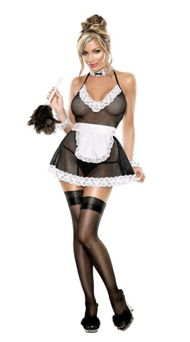 Magic Silk Chamber Maid Lingerie Costume