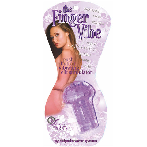 NassToys The Vibrating Finger Vibe Lavender