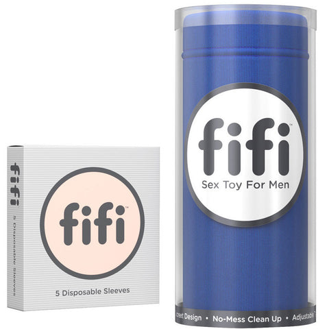 fifi Big Blue with Disposable Sleeves
