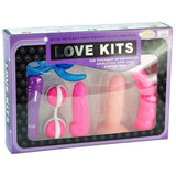 BAILE 6-Piece Vibrating Love Kit