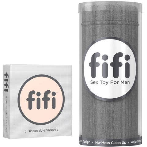 fifi Rugged Gray with Disposable Sleeves