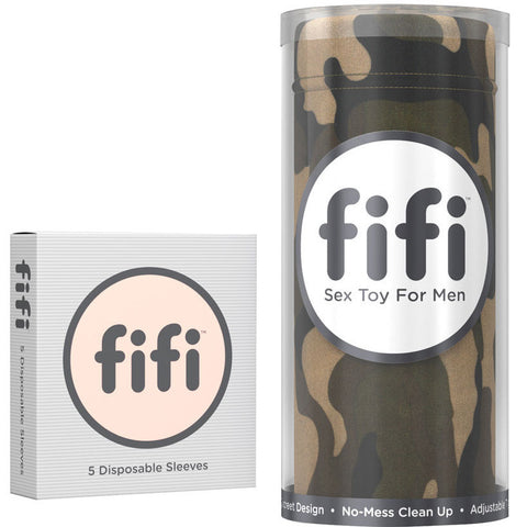 fifi Commando Camouflage with Disposable Sleeves