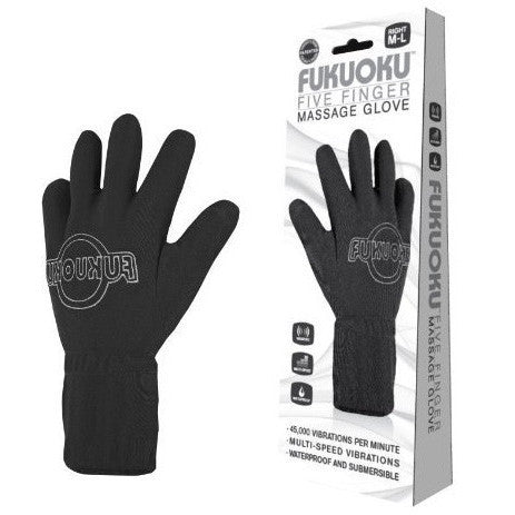 Fukuoku Five Finger Massage Glove (Left)