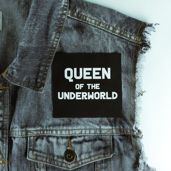 Queen Of The Underworld Canvas Patch - Witch - Goth - Nu Goth - Witch Worldwide