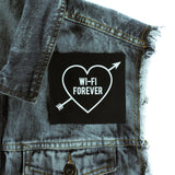 Wi-Fi Forever Canvas Patch - Witch - Goth - Nu Goth - Witch Worldwide