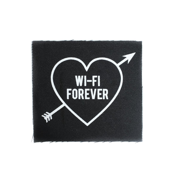 Wi-Fi Forever Canvas Patch - Patches - goth clothing - witchworldwide  - 2