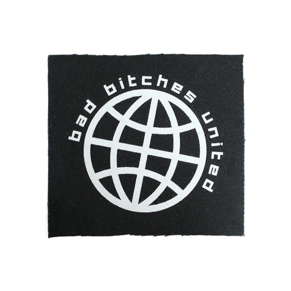 Bad Bitches United Canvas Patch - Witch - Goth - Nu Goth - Witch Worldwide