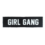 Girl Gang Wide Canvas Patch - Witch - Goth - Nu Goth - Witch Worldwide