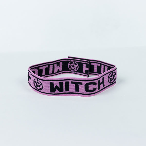 Witch Choker - Pink - Witch - Goth - Nu Goth - Witch Worldwide