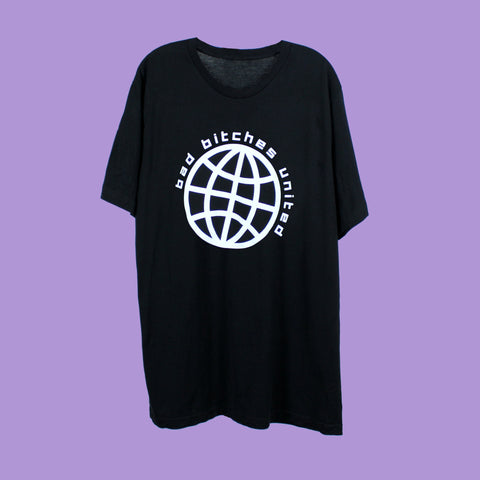 Bad Bitches United Tee Shirt - Witch - Goth - Nu Goth - Witch Worldwide