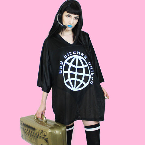 Bad Bitches United Jersey - Witch - Goth - Nu Goth - Witch Worldwide