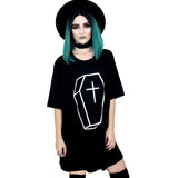 Coffin Oversized Tee Shirt