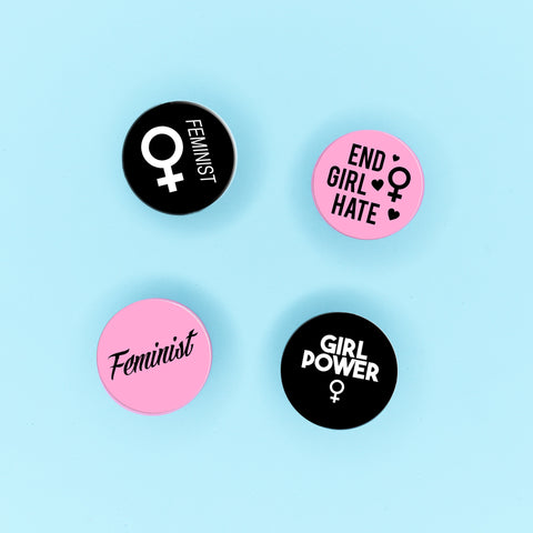 Feminist Badge Pack - Witch - Goth - Nu Goth - Witch Worldwide