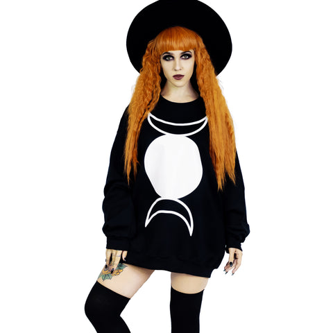Full Moon Oversized Sweatshirt