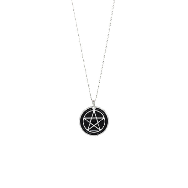 Pentacle Charm Necklace - Witch - Goth - Nu Goth - Witch Worldwide
