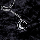 Moon & Stars Charm Necklace - Witch - Goth - Nu Goth - Witch Worldwide