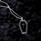 Coffin Charm Necklace - Witch - Goth - Nu Goth - Witch Worldwide