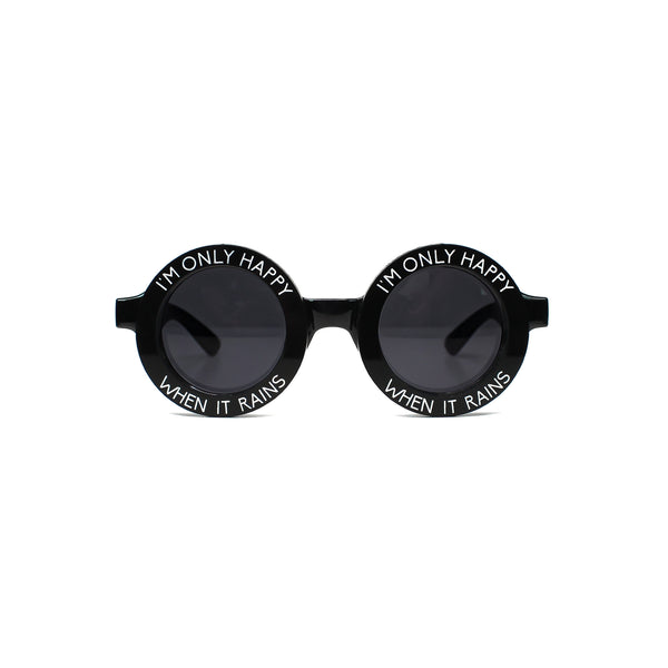 Only Happy When It Rains Sunglasses - Witch - Goth - Nu Goth - Witch Worldwide