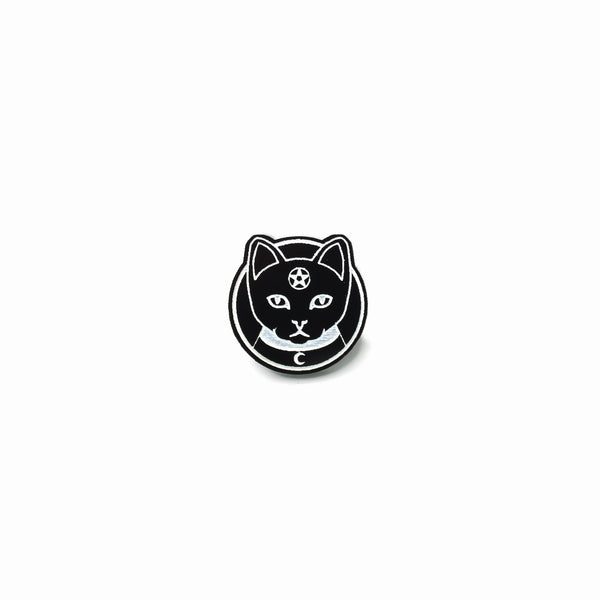 Witch Kitty Pin - Witch - Goth - Nu Goth - Witch Worldwide