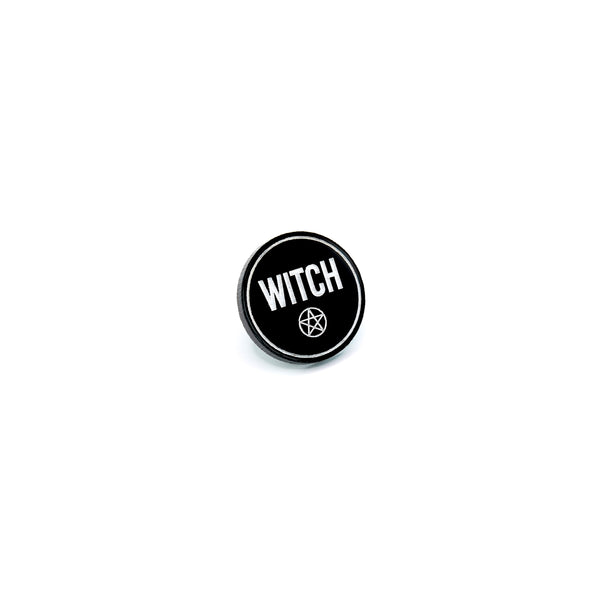 Witch Letters Pin