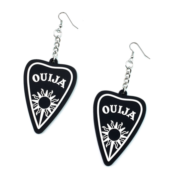 Ouija 3D Silicone Earrings