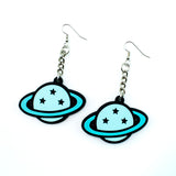 Planet 3D Silicone Earrings