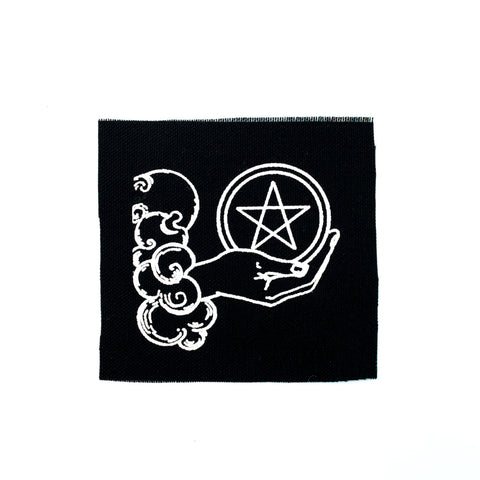 Ace Of Pentacles Canvas Patch
