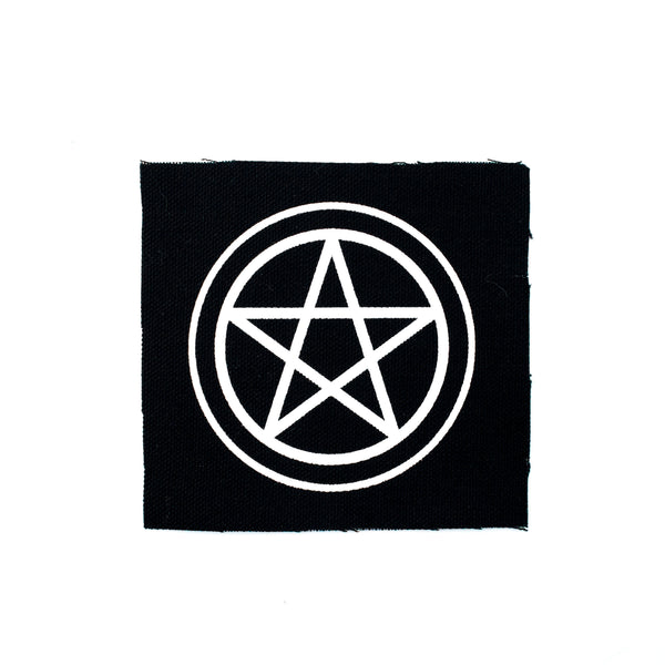 Pentacle Canvas Patch