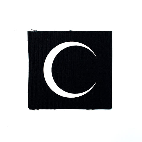 Slim Moon Canvas Patch