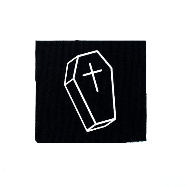 Coffin Canvas Patch
