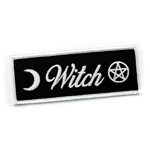 Witch Letters Iron-On Patch
