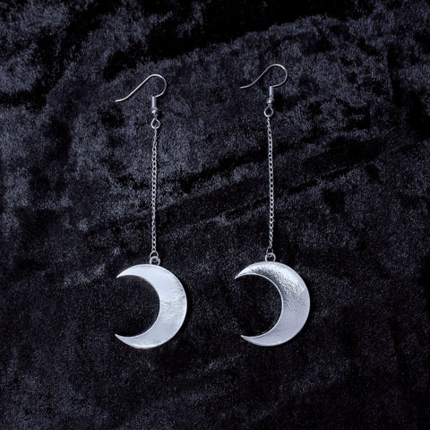 Luna Earrings - Witch - Goth - Nu Goth - Witch Worldwide