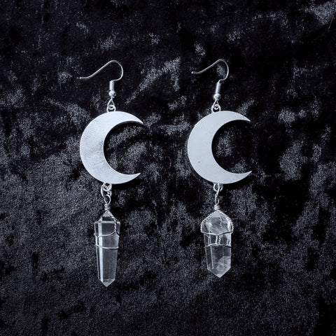 Moonlight Earrings - Witch - Goth - Nu Goth - Witch Worldwide
