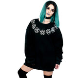 Seven Pentacles Oversized Sweatshirt