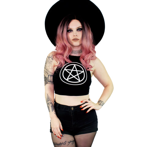 Pentacle Halter Top