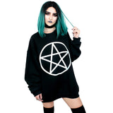 Pentacle Oversized Sweatshirt