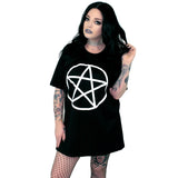 Pentacle Oversized Tee Shirt