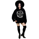 Rose & Pentacle Oversized Sweatshirt