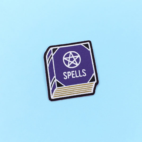 Spell Book Patch - Witch - Goth - Nu Goth - Witch Worldwide