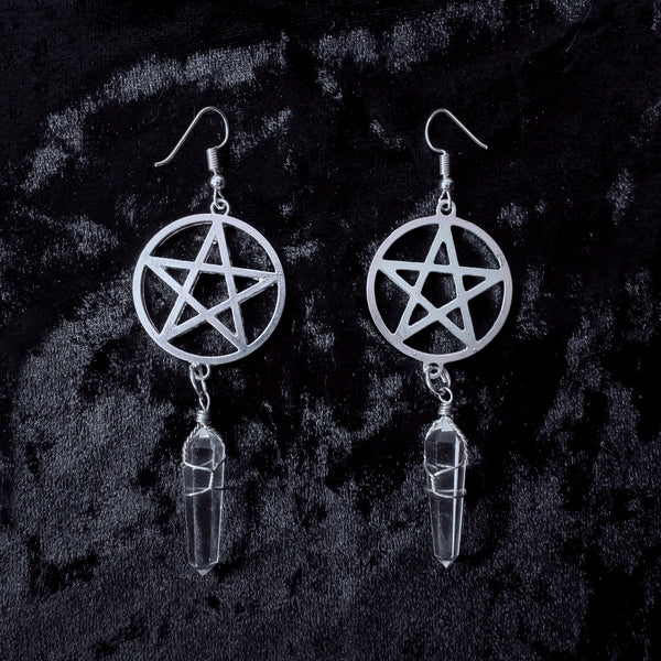 Starlight Earrings - Witch - Goth - Nu Goth - Witch Worldwide