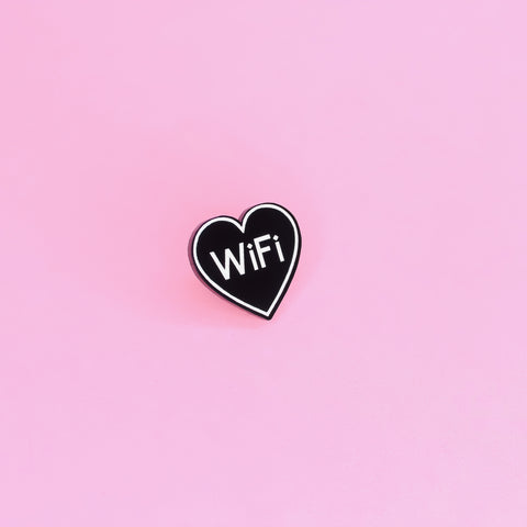 WiFi Love Pin - Witch - Goth - Nu Goth - Witch Worldwide