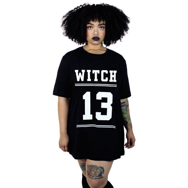 Witch 13 Oversized Tee Shirt