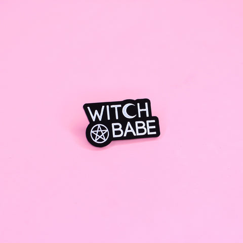 Witch Babe Pin - Witch - Goth - Nu Goth - Witch Worldwide
