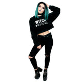 Witch Cropped Sweatshirt