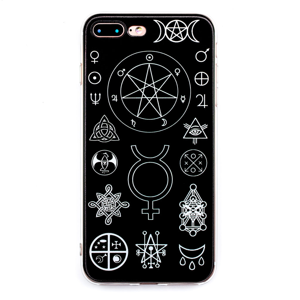 Witch symbols iphone case 66s 66s 78 78 witch worldwide witch symbols iphone case 6 6s 6 7 7s 8s 8 magic witchcraft buycottarizona