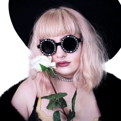 Witch Symbols Sunglasses