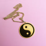 Yin Yang Gold Necklace - Witch - Goth - Nu Goth - Witch Worldwide