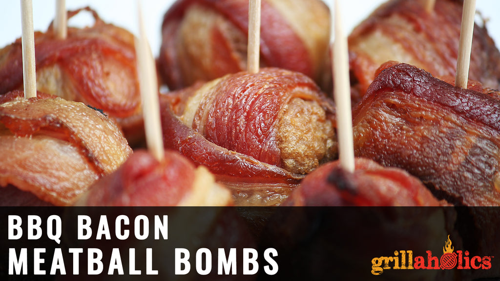 BBQ Bacon Meatball Bombs Recipe