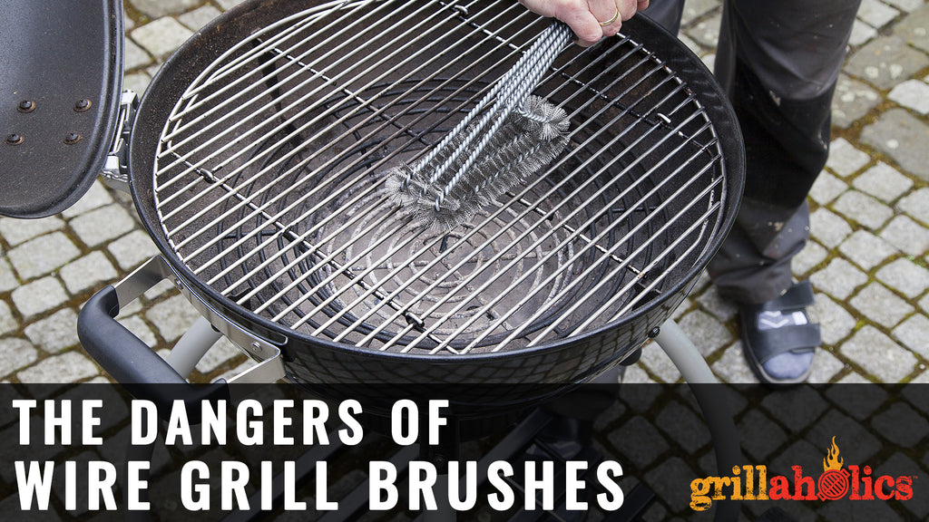 The Dangers of Wire Grill Brushes